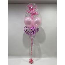 Bubble Teddy & Confetti