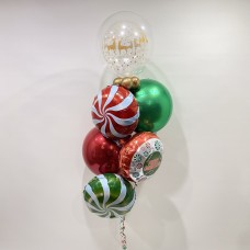 Christmas Bubbles, Orbs and Foils