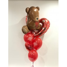 Beary Much Valentine's Day Love