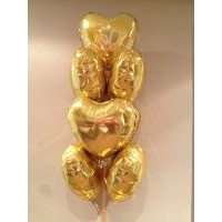 50th Anniversary and Gold Hearts on Special - $80