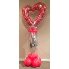 Heart and Taper Pedestal