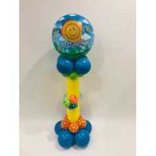 Get Well Deco Bubble Pedestal