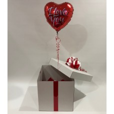 I Love You Foil Birthday Balloon in a Box