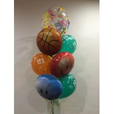 21st Bubble, Basketball, Smiles and Prints