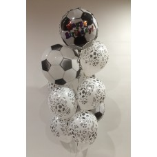 Soccer Bubble, Foil and Latex