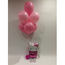 Hello Kitty Airwalker and Birthday Bouquet