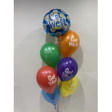 Get Well Soon Foil and Get Well Latex