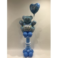Teddy Bear Its A Boy Pedestal