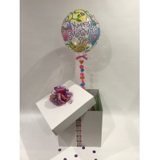 Mothers Day Deco Bubble Balloon in a Box