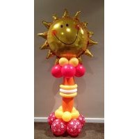 Smiling Sun Pedestal on Special - $73