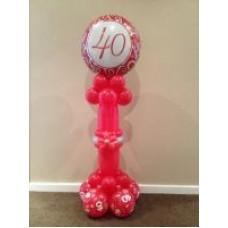 40th Pedestal
